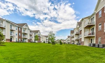 Building, River Hills Apartments, 1