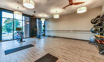 Fitness Weight Room, The Yards at Malvern, 2