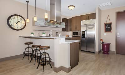Kitchen, Crocker Park Living Apartments, 1