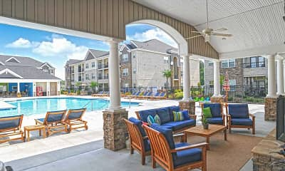 Pool, Palisades of Jacksonville Apartments, 0