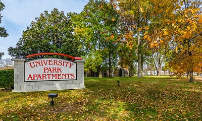 Community Signage, University Park Apartments, 0