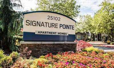 Community Signage, Signature Pointe, 0