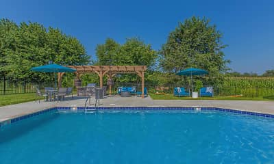 Pool, Summertrees Apartments, 1
