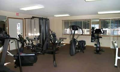 Fitness Weight Room, Shagbark Apartments, 1