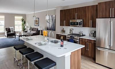 Kitchen, Avalon Princeton, 1