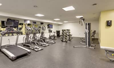 Fitness Weight Room, Park East Apartments, 1
