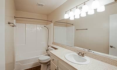 Bathroom, City Plaza Apartments, 2