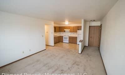 Living Room, Southview Park Apartments, 1