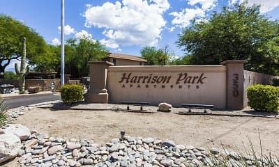 Community Signage, Harrison Park, 2