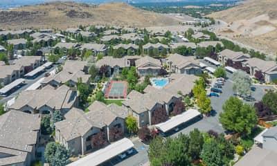 birds eye view of property, Canyon Vista, 2