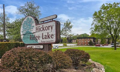 Community Signage, Hickory Ridge Lake, 2