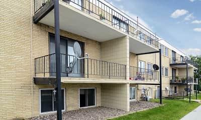 Building, Mile Manor Apartments, 1