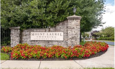 Community Signage, Mount Laurel Crossing, 0