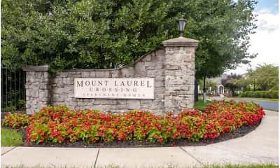 Community Signage, Mount Laurel Crossing, 0