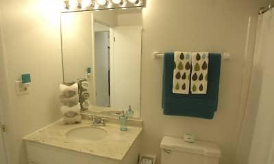 Bathroom, Grand Oaks Apartments, 2
