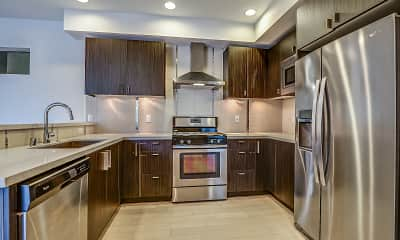 Kitchen, Azure The Residences, 0