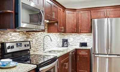 Kitchen, Centennial Apartments, 1