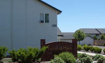 Community Signage, Victoria Place, 2