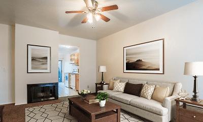 Living Room, Ascent at Cottonwood Creek, 2