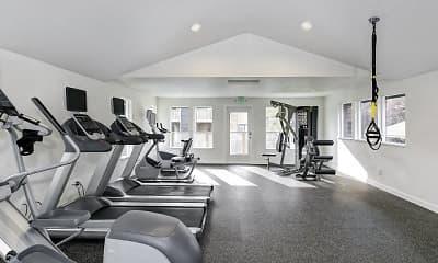 Fitness Weight Room, Hangar 128, 2
