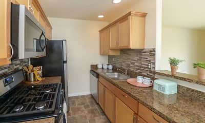 Kitchen, Hill Brook Place Apartments, 1