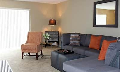 Living Room, Oliver House, 2