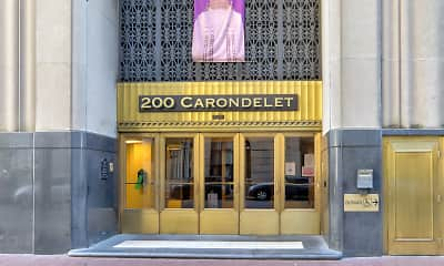 Community Signage, 200 Carondelet, 0