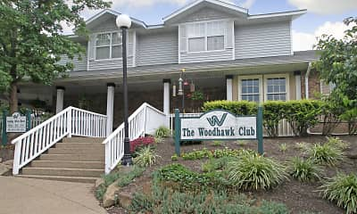 Community Signage, The Woodhawk Club, 0