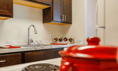 Kitchen, Chestnut Lake, 1