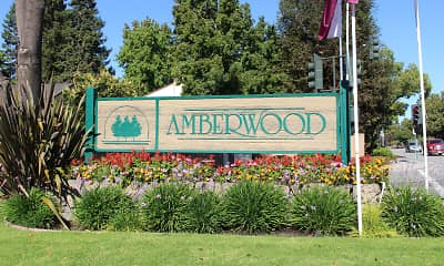 Community Signage, Amberwood Apartments, 0