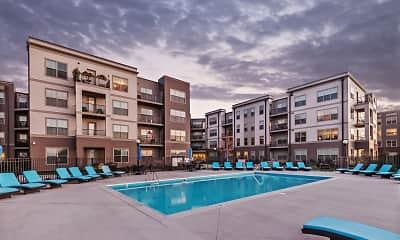 Pool, Water Street Apartments, 1