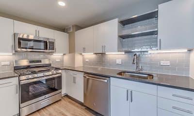 Kitchen, Yorktown Apartments, 1