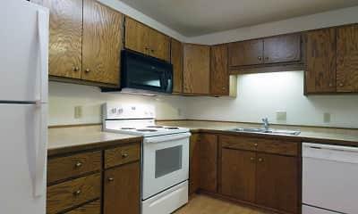 Kitchen, Oxbow Estates, 1