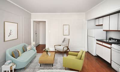 Living Room, 596 W. Hawthorne, 1