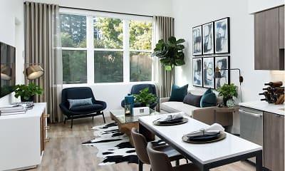 Dining Room, Elan Mountain View, 1
