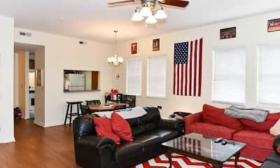 Living Room, Burnham Rentals- Third & Dunn, 1