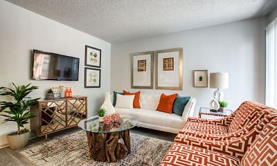 Living Room, Pointe Metro, 1