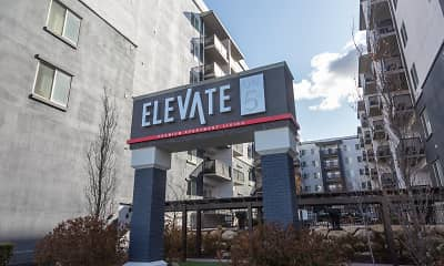 Community Signage, Elevate on 5th Apartments!, 0