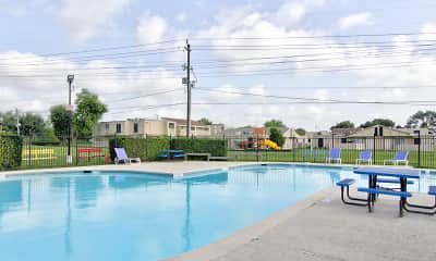 Pool, Huntington Village and Cambridge Crossing, 1