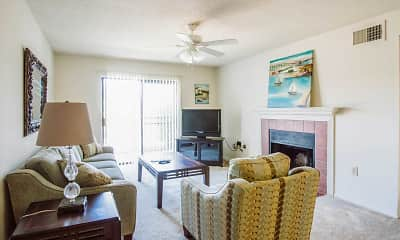 Living Room, Pass Pointe Apts, 0