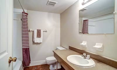 Bathroom, Westshore Apartments, 2