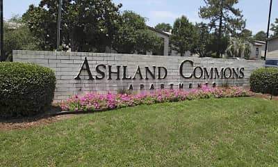 Community Signage, Ashland Commons, 0