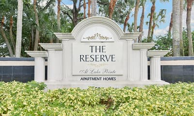 Community Signage, The Reserve at Lake Pointe, 2