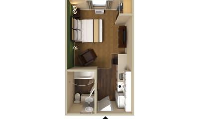 Furnished Studio - Houston - Katy Freeway - Energy Corridor, 2