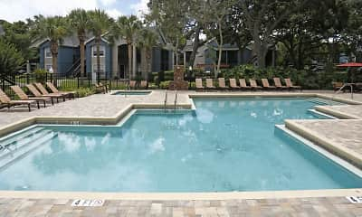 Pool, Stonegate Apartments, 1