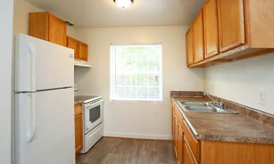 Kitchen, Autumn Ridge Apartments, 1
