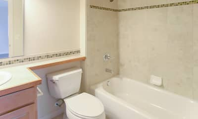 Bathroom, Trio Condominiums, 2