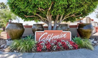 Community Signage, The Californian Fountain Apartments, 2