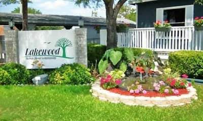 Community Signage, Lakewood Manufactured Home Community, 0