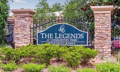 Community Signage, Legends at Charleston Park, 2
